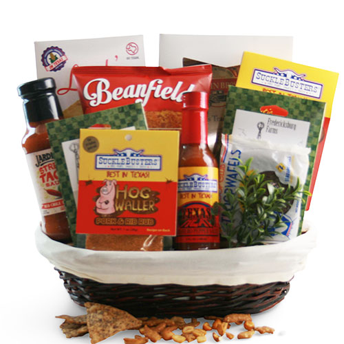 Sm Texas Gift Basket BP1005