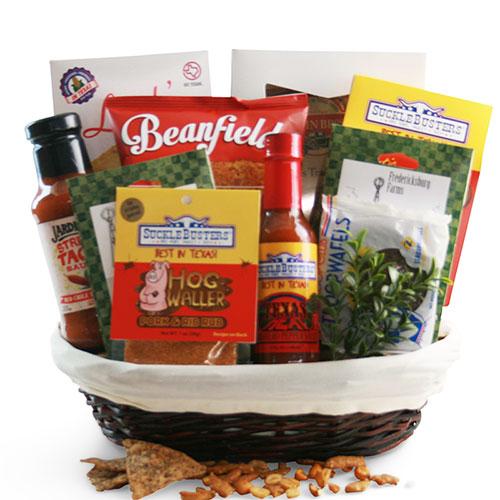 Sm Texas Gift Basket BP1005