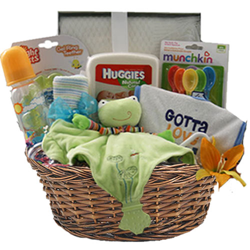 Med Baby Gift Basket BP1006