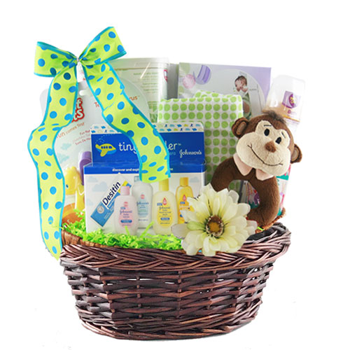 Sm Baby Gift Basket BP1006