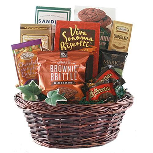 Sm Chocolate Gift Basket BP1006