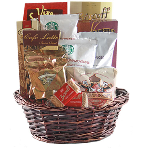 Sm Coffee Gift Basket BP1006