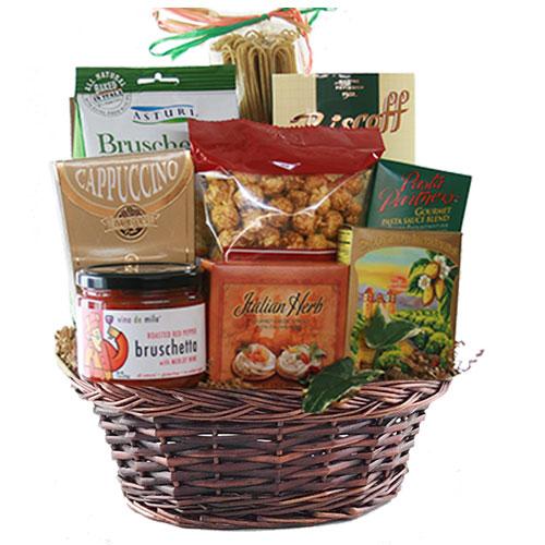 Sm Italian Gift Basket BP1006