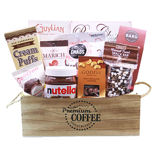 Med Chocolate Gift Basket BP1008