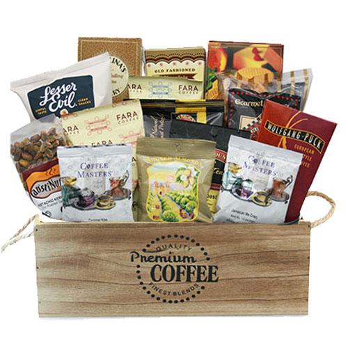 Med Coffee Gift Basket BP1008