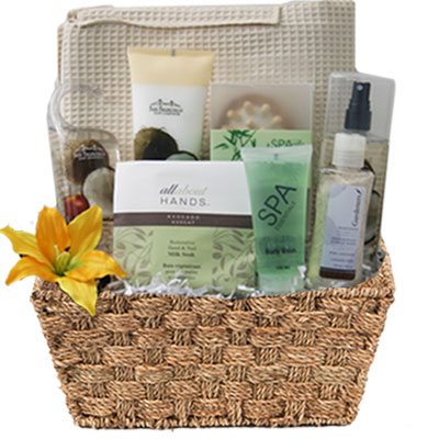Med Spa Gift Basket BP1009