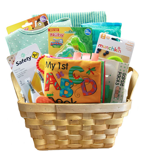 Sm Baby Gift Basket BP1009