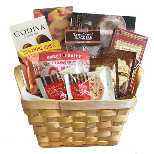 Sm Chocolate Gift Basket BP1009