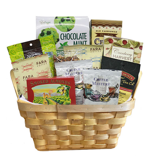 Sm Coffee Gift Basket BP1009