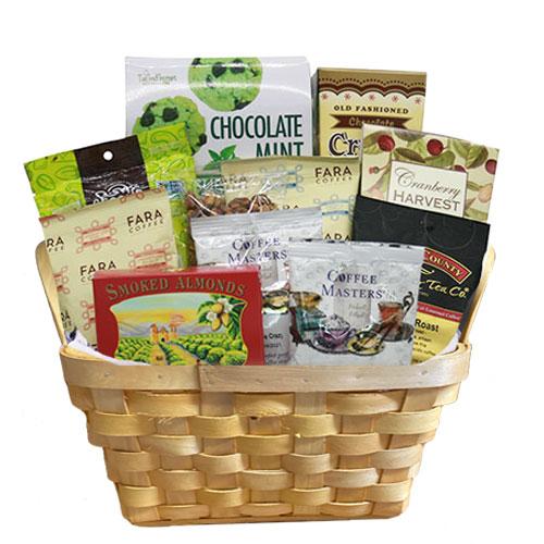 Sm Coffee Gift Basket BP1009
