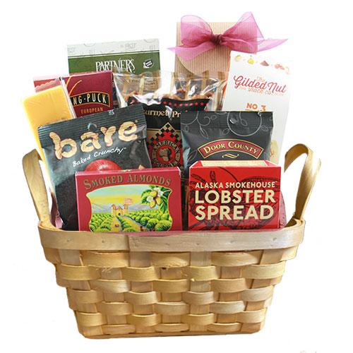 Sm Gourmet Gift Basket BP1009