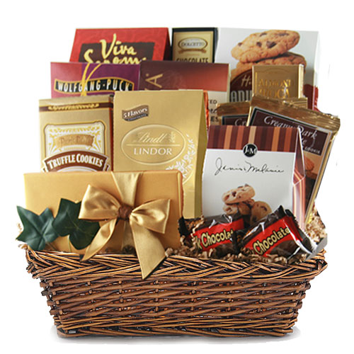 Lg Chocolate Gift Basket BP1010