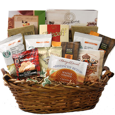 Lg Coffee Gift Basket BP1010
