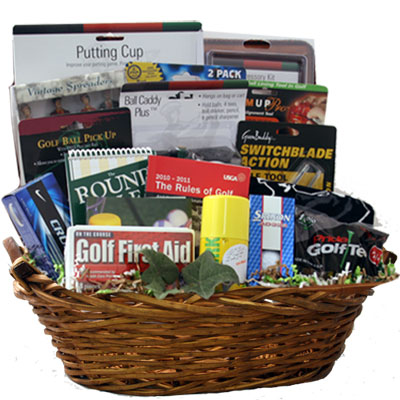 Lg Golf Gift Basket BP1010