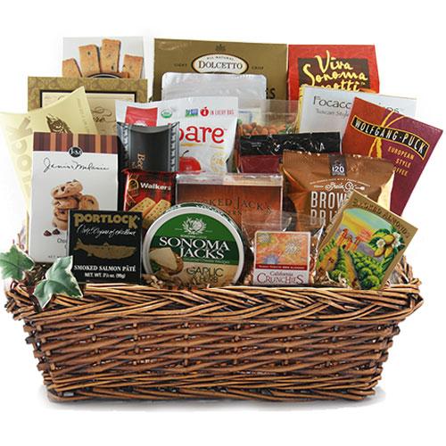 Lg Gourmet Gift Basket BP1010