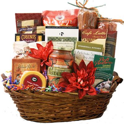 Lg Italian Gift Basket BP1010