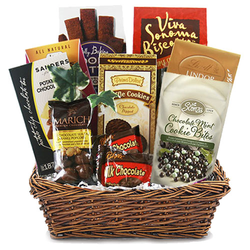 Med Chocolate Gift Basket BP1010