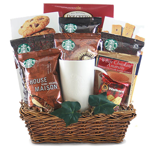 Med Coffee Gift Basket BP1010