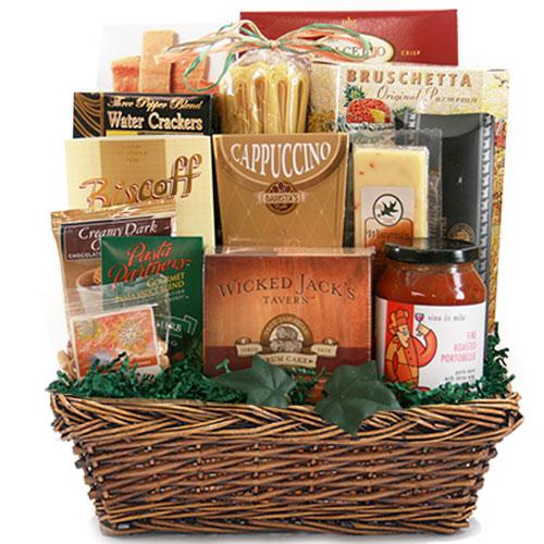 Med Italian Gift Basket BP1010