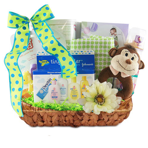 Med Baby Gift Basket BP1011