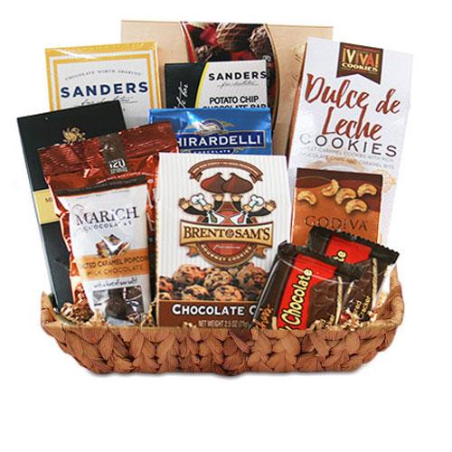 Sm Chocolate Gift Basket BP1011