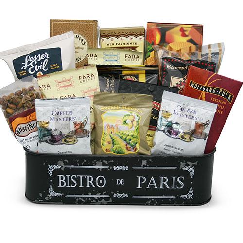 Med Coffee Gift Basket BP1011