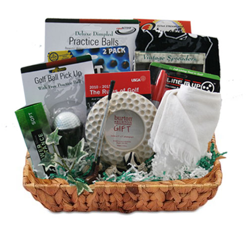 Med Golf Gift Basket BP1011
