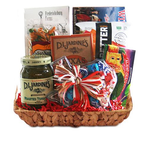 Sm Texas Gift Basket BP1011