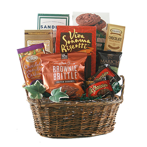 Sm Chocolate Gift Basket BP1011