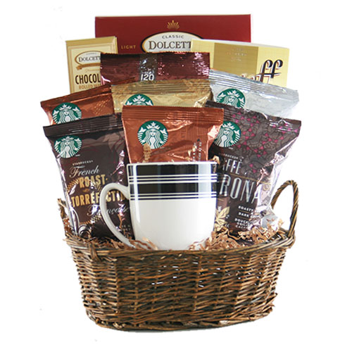 Med Coffee Gift Basket BP1011