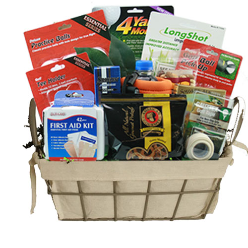 Med Golf Gift Basket BP1012