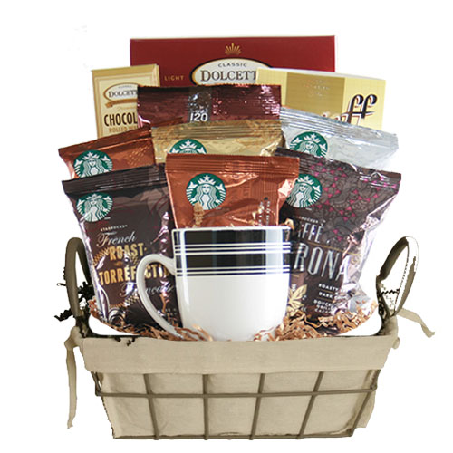 Sm Coffee Gift Basket BP1012