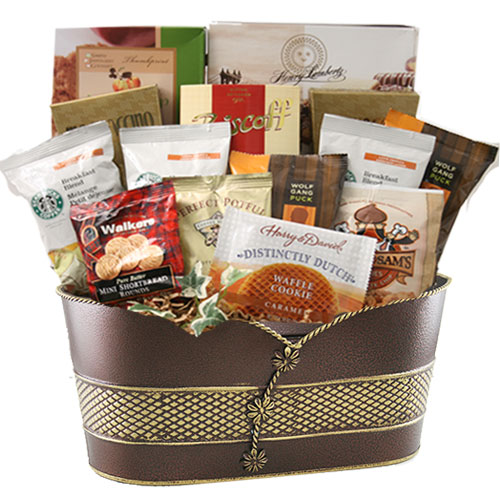 Lg Coffee Gift Basket BP1013