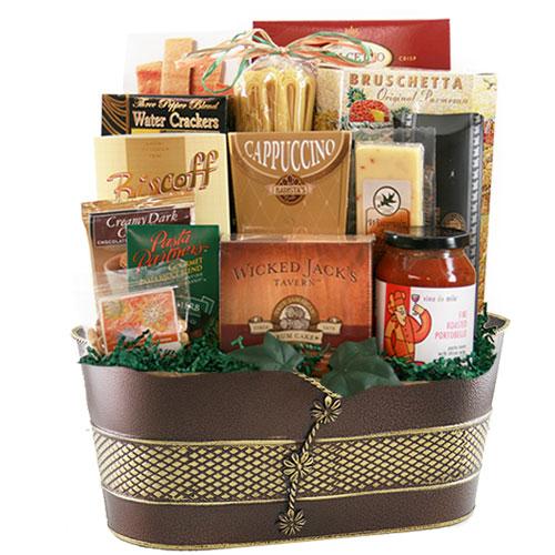 Lg Italian Gift Basket BP1013