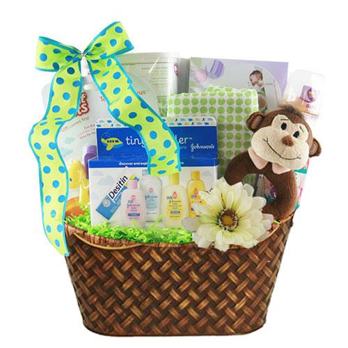 Lg Baby Gift Basket BP1013