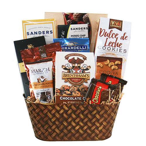 Med Chocolate Gift Basket BP1013