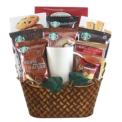 Med Coffee Gift Basket BP1013