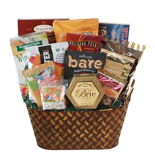 Lg Gourmet Gift Basket BP1013