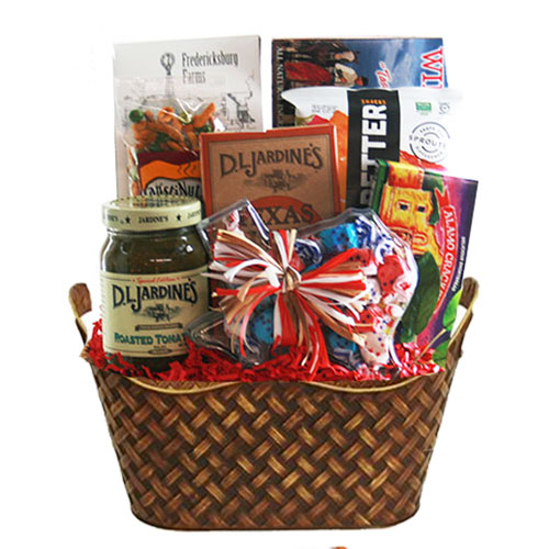Med Texas Gift Basket BP1013
