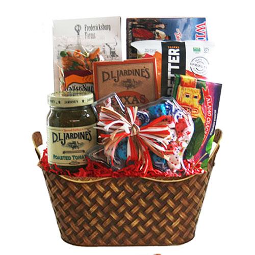 Lg Texas Gift Basket BP1013