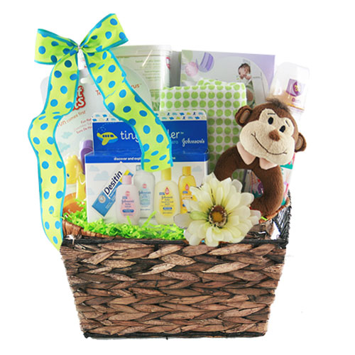 Sm Baby Gift Basket BP1017