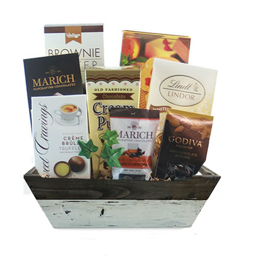 Sm Chocolate Gift Basket BP1017