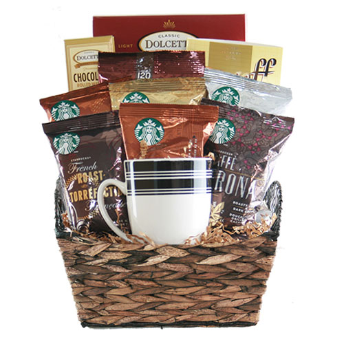 Sm Coffee Gift Basket BP1017
