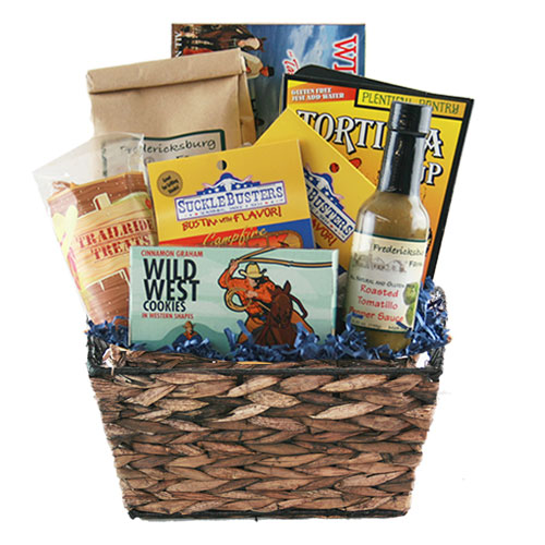 Sm Texas Gift Basket BP1017