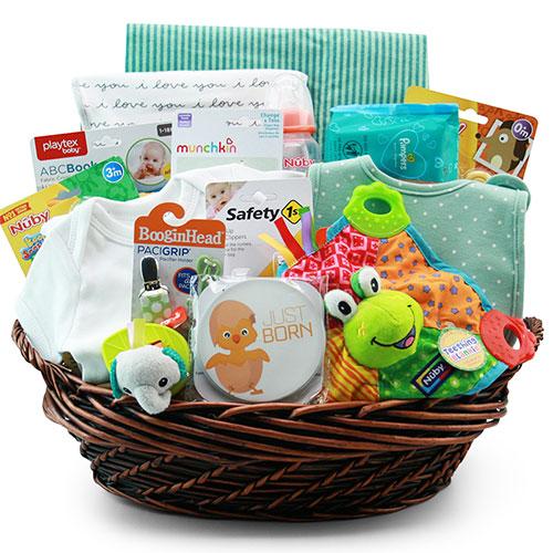 Lg Baby Gift Basket BP1018