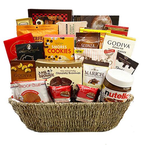 Lg Chocolate Gift Basket BP1018