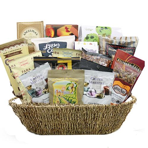 Lg Coffee Gift Basket BP1018