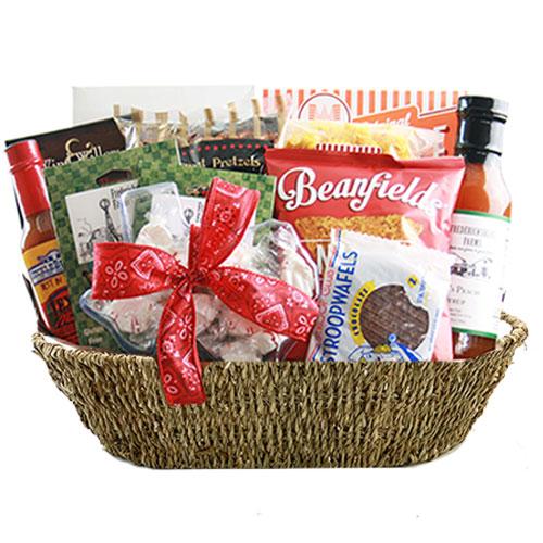 Lg Texas Gift Basket BP1018