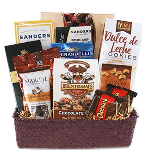 Med Chocolate Gift Basket BP1018