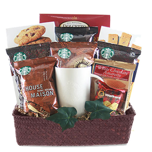 Med Coffee Gift Basket BP1018